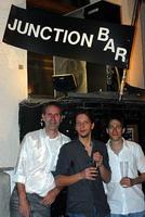 Vor der Junction Bar