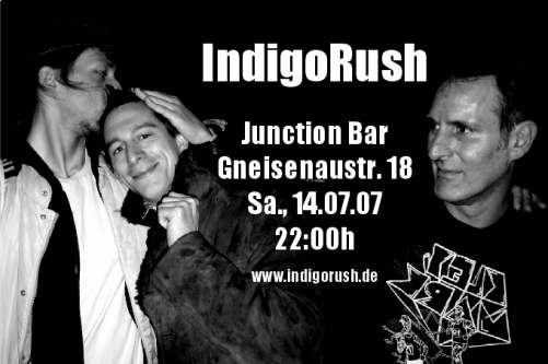 IndigoRush in der Junction Bar