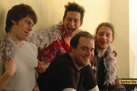 IndigoRush 2004: Benny, Martin, Mark, Ronny